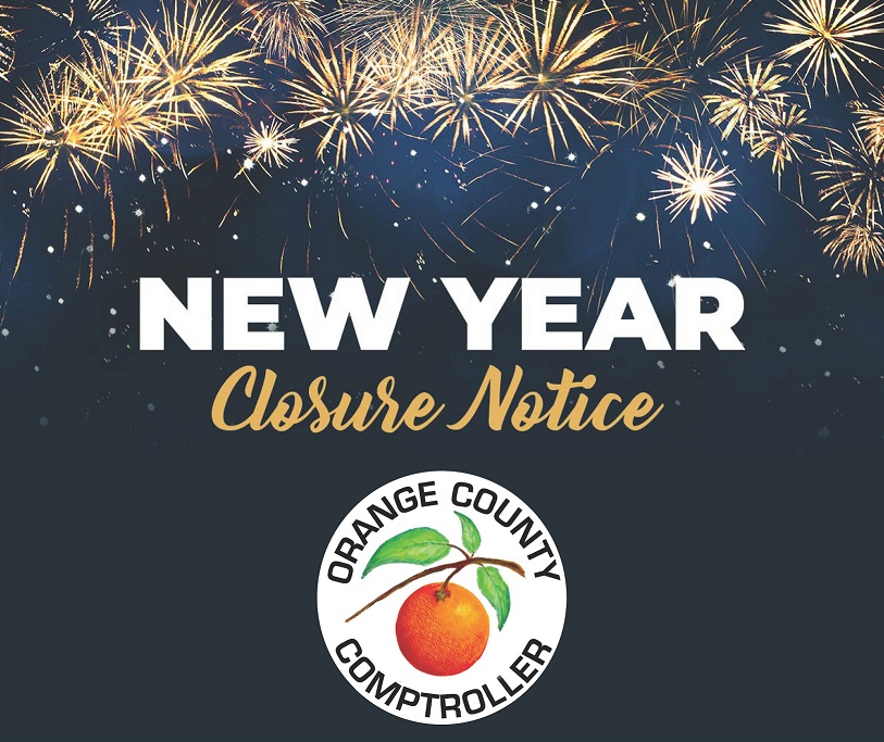 New Year Office Closure Notice